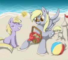 Muffin Picnic! by Radioactive-K