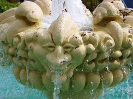 Monster Fountain by Agatha-Tyche