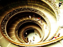 The Never Ending Staircase by iAngelRhii