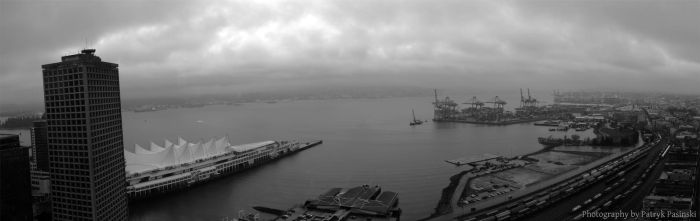 Typical Rainy Day Vancouver by Acolite