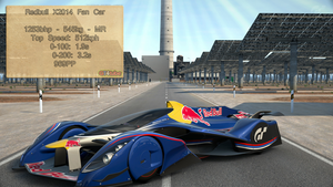 GT6 - Redbull X2014 Fan Car - Stats by GT4tube