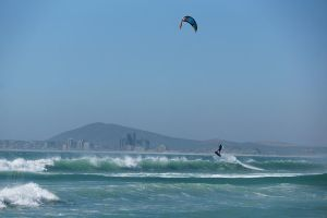 Kite Surfing - Lift off by AfricanObserver