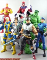 Marvel Vs. Capcom Group Shot 2 by KyleRobinsonCustoms
