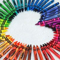 colorful crayons by deziirae18