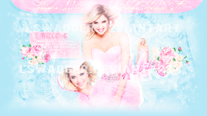 Ashley Benson Layout by Lswagger