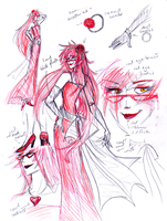 Design: Scarlet Ball Grell by Zedela