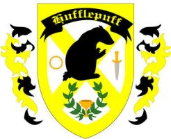 Hufflepuff Badge: Redesign by Silvre