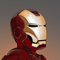 Iron Man Digital Painting by Titch-IX