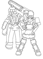Eson Region - Gym Leaders Bernard and Bernadette by Trueform