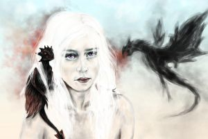 Mother of Dragons by Annavalerevna