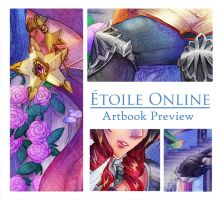 Etoile Online Charity Artbook preview by Fortranica