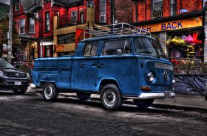 The Blue VW HDR by Tavarin