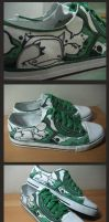 Customised Sneakers 09 by injuryordeath