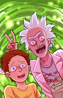 Rick and Morty by KaiTexel