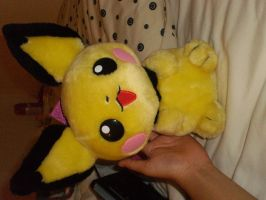 Pichu Backpack by Allyerion
