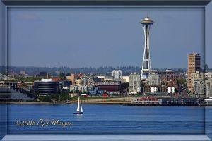 Sailing Elliott Bay by e-CJ