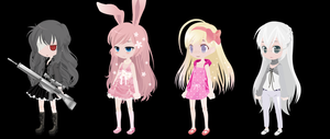 FREE ADOPTS 2 : CLOSED : by Kandykanee