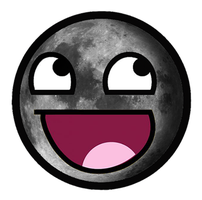 Moon Awesome Smiley by E-rap