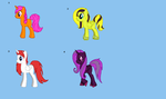 adoptable my little ponys by Kinnder101