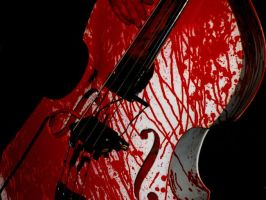 the bloody bass...literally by oioijulian