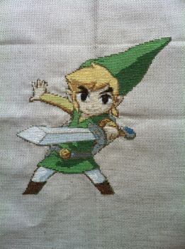 Enthusiastic Link by Gabzcr