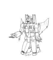 Sunstorm - Surrender lineart by horsetechie