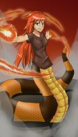 Scala in flames by vaderaz