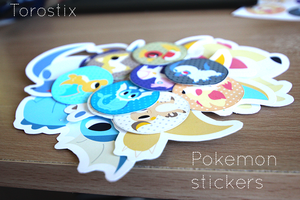 POKEMON STICKERS FOR SALE - New Stickers Added