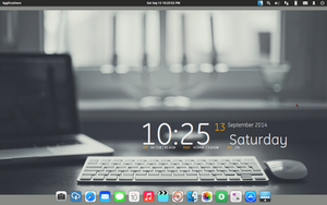 Screenshot Elementary Luna OS by ivanymathias