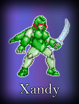 Xandy the sprite by Sting-raptor