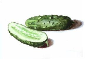 cucumbers by Savanlinna