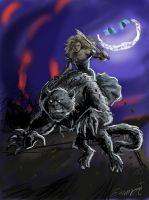 Alice and the Bandersnatch by JesusIsMyHomie