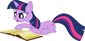 Twilight Sparkle Reading Book by Jeatz-Axl