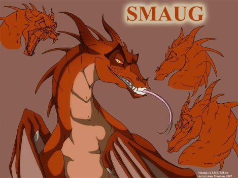Smaug The Magnificent by Xx-ArtyAmy-xX