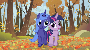 Luna and Twilight by MisterAibo