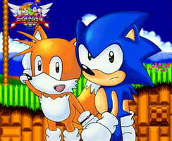 Sonic and Tails in STH2 by TrueRetroSonic