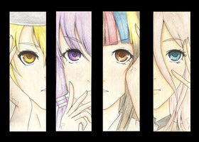 Migikata No Chou - Vocaloid 3 Bookmark by YerBestFriend99