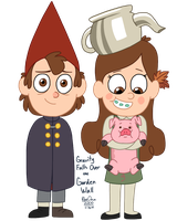 Gravity Falls 20 Day Challenge: Day 5 by BlueOrca2000