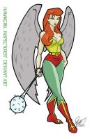 Hawkgirl by Inspector97