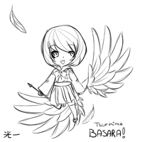 Chibi Little Crane by Dreaming-in-Darkness