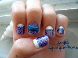 Lolita Lace and Bows by LizLizards