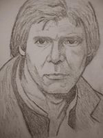 Han Solo Drawing by Jeremiah29