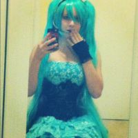 Miku Hatsune cosplay by DarkHeartCosplay
