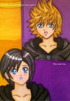 Roxas x Xion: You and me by dagga19 by dagga19