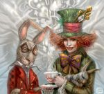 Mad Hatter + March Hare by emilynguyenart