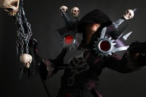 WOW Warlock T5 Cosplay 4 by Crimson-Shirou