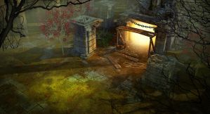 Diablo III Style Environment by KeithSeymour