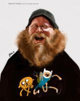 Pendleton ward caricature by jupa1128