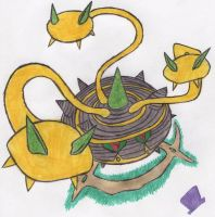 Ferrothorn is an Arceus by MadHatter-Himself