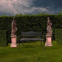 Garden3 Premade Background by VIRGOLINEDANCER1